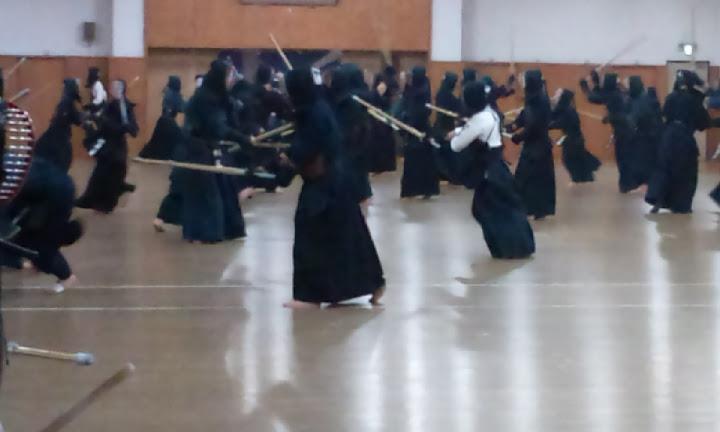 寒稽古、、、剣道とピリオダイゼーション!?