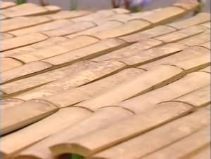 全剣連DVD「竹刀ー剣道の発展を支えた竹刀の歩みー」の1シーン