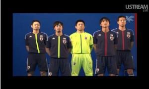 サッカー日本代表2012ユニフォーム