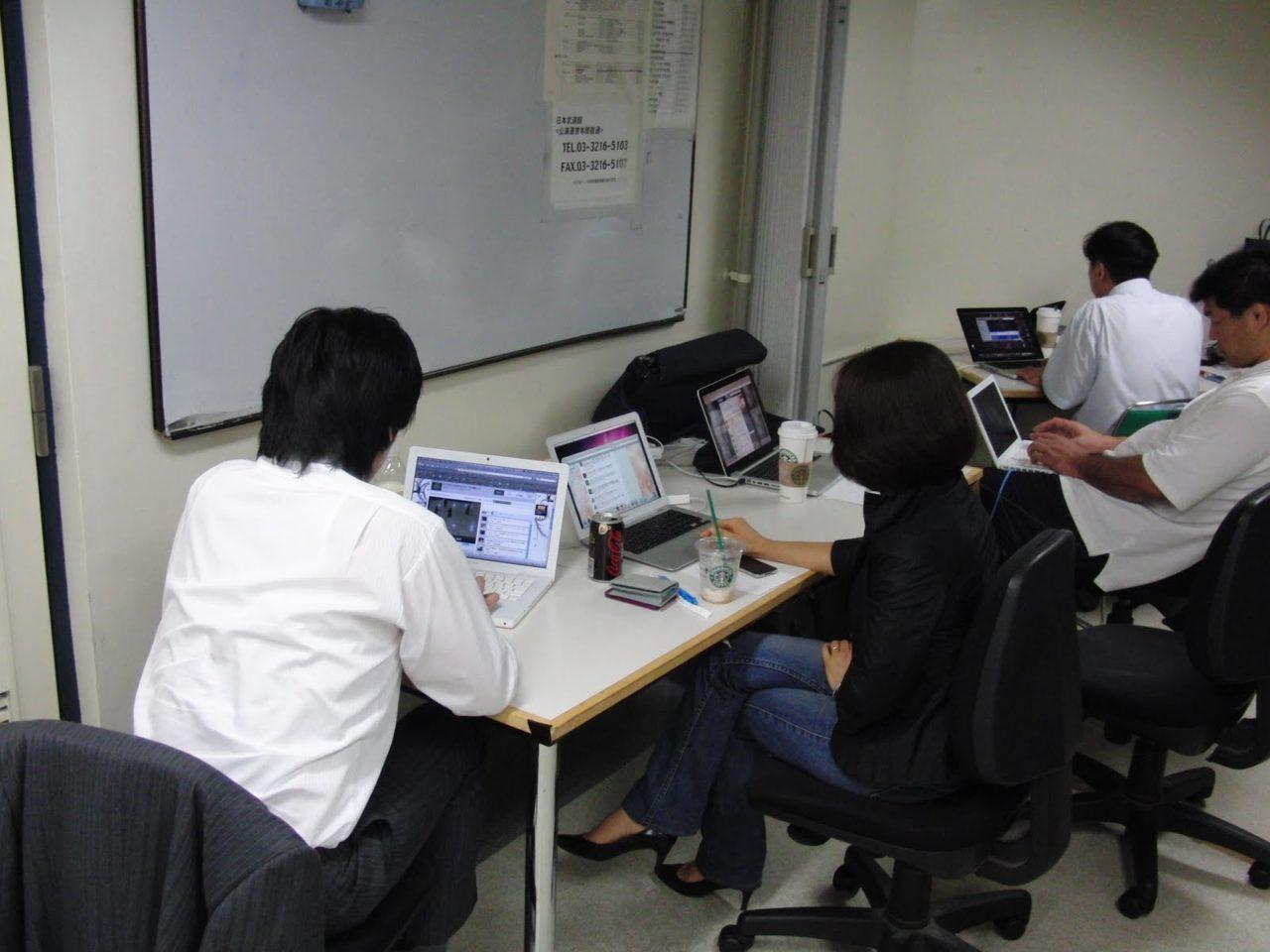 2010/7/17 剣道大会映像配信のお仕事をして