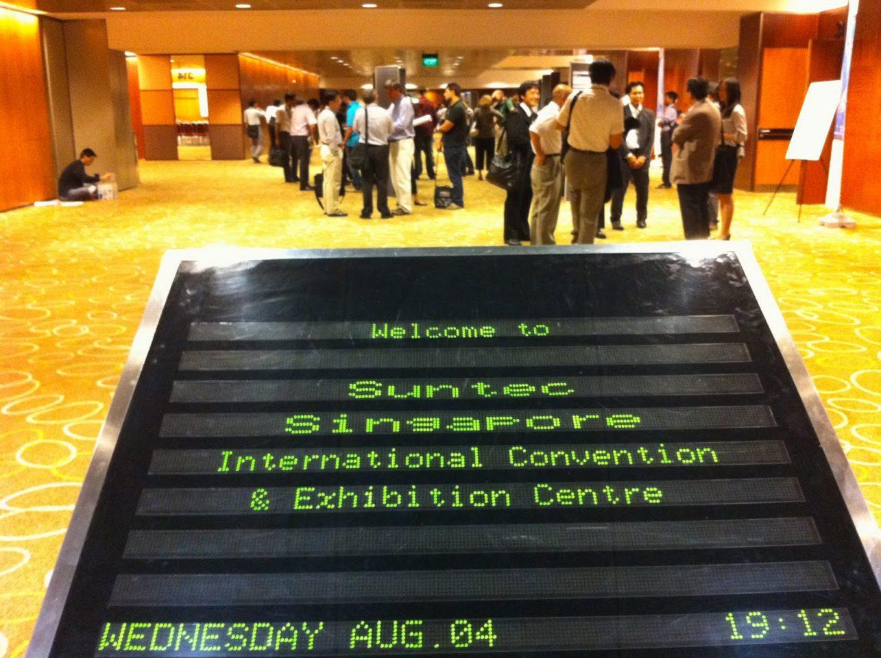 シンガポール旅行記:WCB2010=おしごとです!