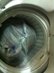 剣道具の洗濯:こんなかんじです!