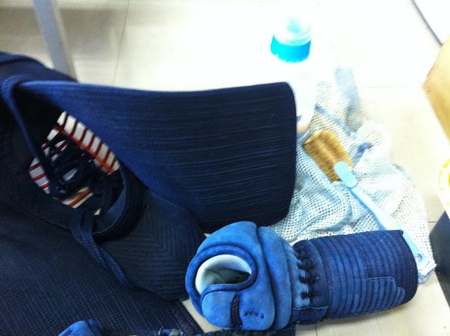 剣道具の洗濯(マニュアル編):ヲタクっぷり[22]