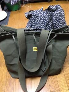 バンナイズ製トートバッグ型防具袋