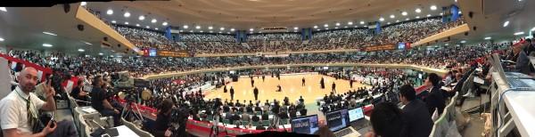 超満員の日本武道館